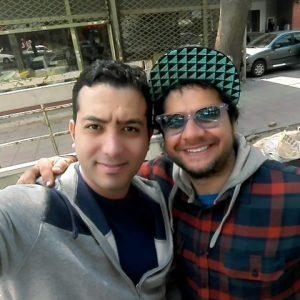 عکس اینستاگرام علی معصومی در کنار علی صادقی
