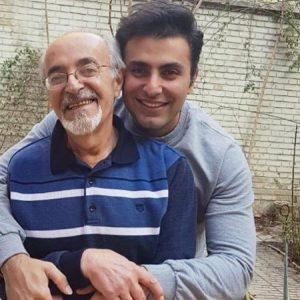عکس اینستاگرام علیرضا طلیسچی در کنار پدرش