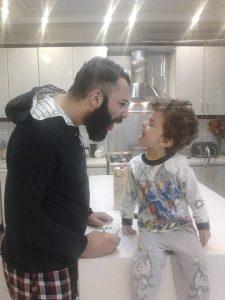 عکس اینستاگرام حمید صفت