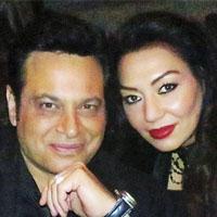 عکس اینستاگرام پیروز پاینده آزاد در کنار همسرش