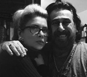 عکس اینستاگرام شهرام شبپره در کنار همسرش