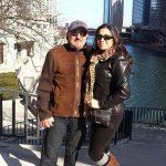 عکس اینستاگرام شهرام خسروشاهی آذر (سندی) در کنار همسرش