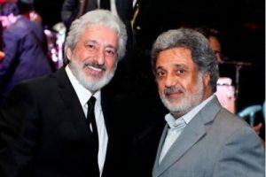 عکس اینستاگرام ابراهیم حامدی (ابی) در کنار داریوش اقبالی