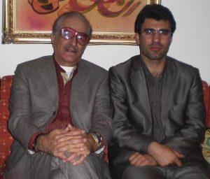 عکس اینستاگرام حسین رضا اسدی در کنار کورس سرهنگ زاده
