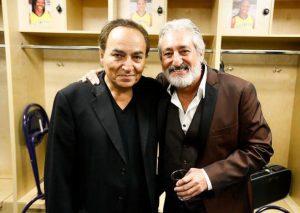 عکس اینستاگرام شهیار قنبری در کنار ابی