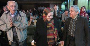 عکس اینستاگرام مرتضی احمدی در کنار حمیده خیرآبادی و عزت الله انتظامی