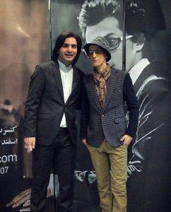 عکس اینستاگرام مرتضی پاشایی در کنار محسن یگانه