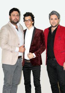 عکس اینستاگرام مرتضی پاشایی در کنار محمد علیزاده و بابک جهانبخش