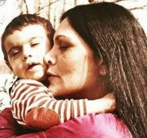 عکس اینستاگرام گیتی پاشایی در کنار پسرش پولاد کیمیایی