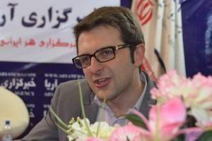 عکس اینستاگرام علی پهلوان در مصاحبه خبری