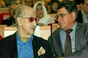 عکس اینستاگرام عبدالوهاب شهیدی در کنار محمدرضا شجریان
