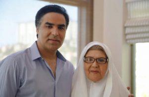 عکس اینستاگرام امید سلطانی (امید) در کنار مادرش