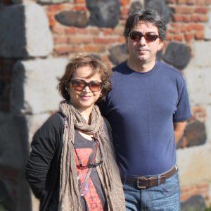 عکس اینستاگرام سیما بینا در کنار پسرش آرش میتویی