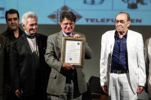 عکس اینستاگرام فرهنگ شریف در کنار محمدرضا شجریان و ایرج خواجه امیری