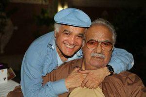 عکس اینستاگرام انوشیروان روحانی در کنار ناصر ملک مطیعی