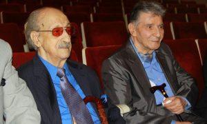 عکس اینستاگرام عبدالوهاب شهیدی در کنار نادر گلچین