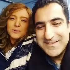 عکس اینستاگرام رضا روحانی در کنار همسرش فرانک