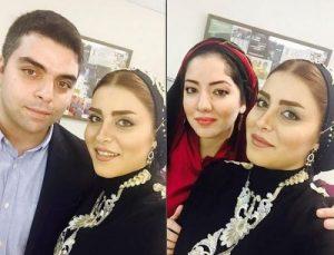عکس اینستاگرام مهدیه محمدخانی در کنار خواهر و برادرش