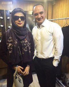 عکس اینستاگرام مریم حیدرزاده در کنار احسان کرمی