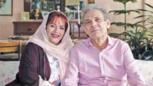 عکس اینستاگرام نجمه تجدد در کنار همسرش بیژن کامکار