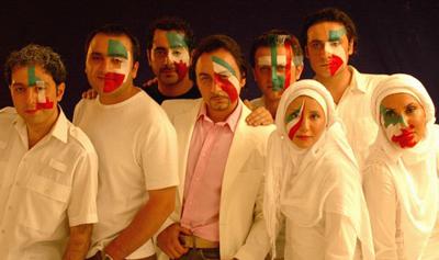 عکس اینستاگرام علی پهلوان در کنار گروه آریان