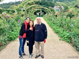 عکس اینستاگرام گلشیفته فراهانی در کنار پدر و مادرش