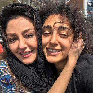 عکس اینستاگرام گلشیفته فراهانی در کنار خواهرش شقایق فراهانی