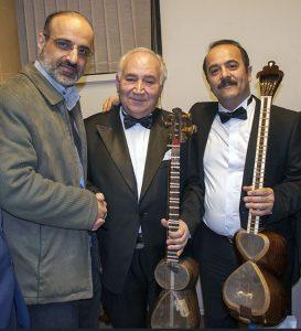 عکس اینستاگرام کیوان ساکت در کنار محمد اصفهانی