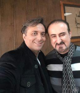 عکس اینستاگرام عبدالحسین مختاباد در کنار مجید اخشابی