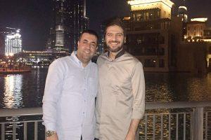 عکس اینستاگرام سامی یوسف در کنار پیام عزیزی
