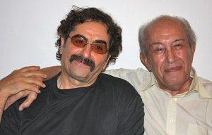 عکس اینستاگرام احمد ابراهیمی در کنار شهرام ناظری