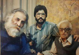 عکس اینستاگرام رجبعلی امیری فلاح در کنار محمدرضا لطفی