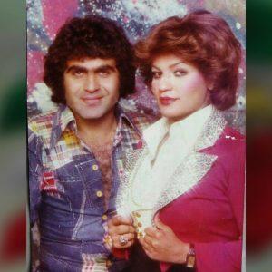 عکس اینستاگرام گیتا در کنار همسرش جمشید نجفی