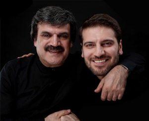 عکس اینستاگرام سامی یوسف در کنار پدرش بابک رادمنش