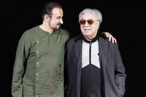 عکس اینستاگرام عبدالحسین مختاباد در کنار اکبر گلپایگانی