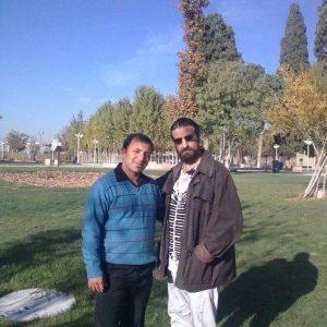 عکس اینستاگرام علیرضا قمیشی در کنار هادی عدومی