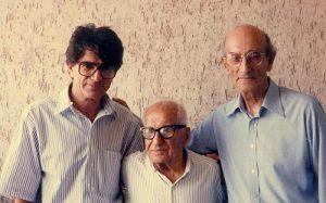 عکس اینستاگرام رجبعلی امیری فلاح در کنار محمدرضا شجریان