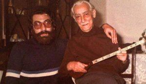 عکس اینستاگرام احمد عبادی در کنار پرویز مشکاتیان