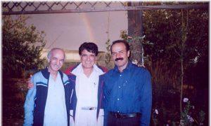 عکس اینستاگرام محسن کرامتی در کنار محمدرضا شجریان