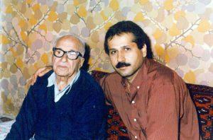 عکس اینستاگرام رضا رضایی پایور در کنار استاد رجبعلی امیری فلاح