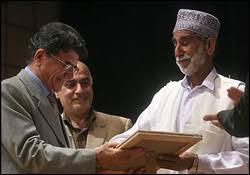 عکس اینستاگرام ملا کمالان (کمال خان هوت) در کنار محمدرضا شجریان