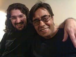 عکس اینستاگرام امیرحسین مدرس در کنار خسرو شکیبایی