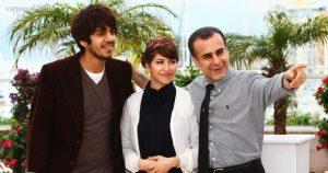عکس اینستاگرام اشکان کوشانژاد در کنار نگار شقاقی و بهمن قبادی