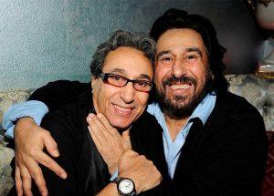 عکس اینستاگرام شهبال شبپره در کنار برادرش شهرام