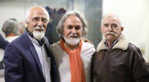 عکس اینستاگرام ملک محمد مسعودی در کنار مجید درخشانی