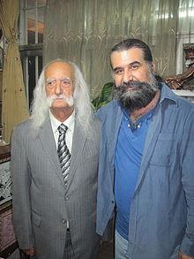 عکس اینستاگرام حسین پرنیا در کنار ابراهیم ناعم