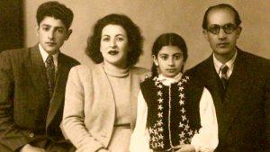 عکس اینستاگرام گلنوش خالقی در کنار خانواده اش