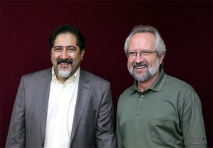 عکس اینستاگرام همایون رحیمیان در کنار حسام الدین سراج