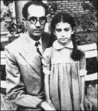 عکس اینستاگرام گلنوش خالقی در کنار پدرش روح الله خالقی