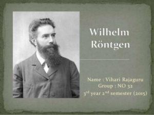بیوگرافی ویلیام کنراد رونتگن به همراه داستان زندگی شخصی و عکس های اینستاگرامی